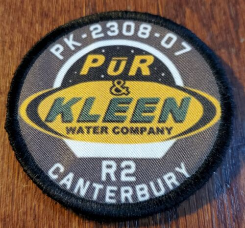 Canterbury Pur & Clean The Expanse   Morale Patch Tactical Military Army