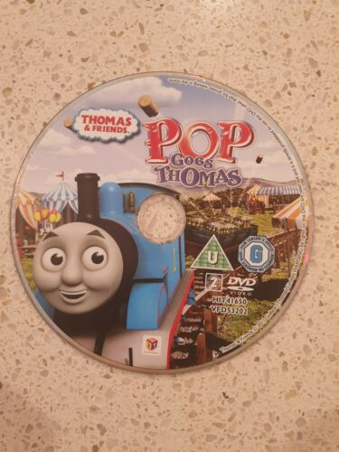 Thomas and Friends: Pop Goes Thomas DVD DISC ONLY