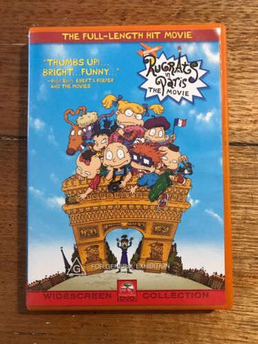 Rugrats In Paris DVD The Movie The Full Lenght Hit Movie Rated G Widescreen