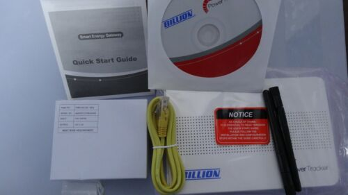 Billion Power Tracker SG6200NXL Zigbee Smart Energy Gateway