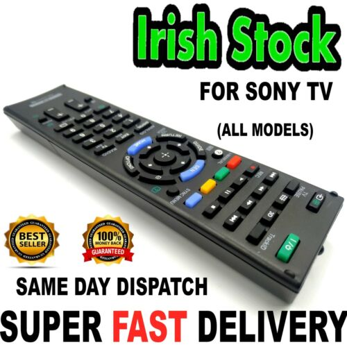 SONY BRAVIA Universal Remote Replacement For All Models Including Smart TV Great