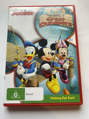 Mickey Mouse Clubhouse MICKEY'S GREAT OUTDOORS DVD  Like New