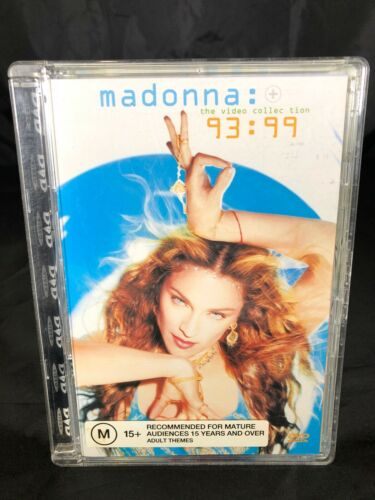 MADONNA THE VIDEO COLLECTION 93-99 DVD