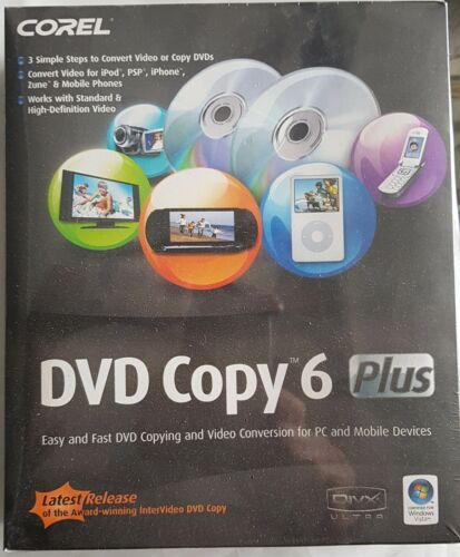 COREL DVD COPY 6 PLUS DVD COPY AND VIDEO CONVERSION FOR PC AND MOBILE