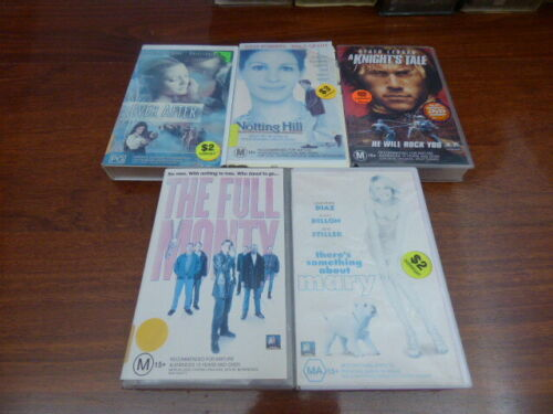 Videos x 5 - Comedy There's Something About Mary Set