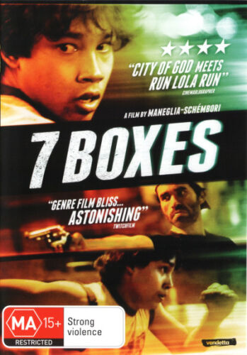 7 Boxes - DVD (NEW & SEALED)