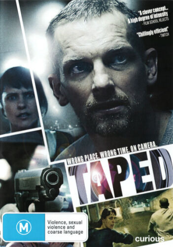 Taped - DVD (NEW & SEALED)
