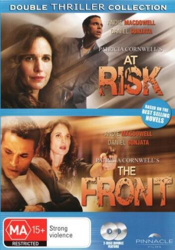 At Risk / The Front (Patricia Cornwell) - DVD (NEW & SEALED)