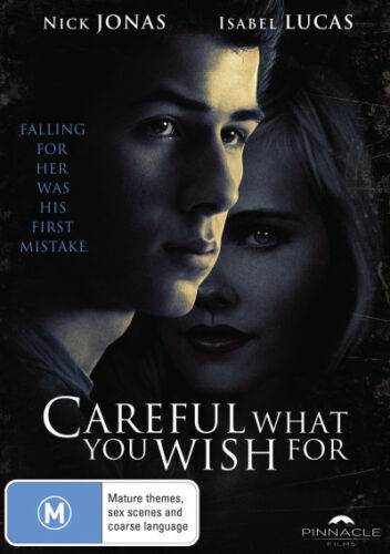 Careful What You Wish For - DVD (NEW & SEALED)