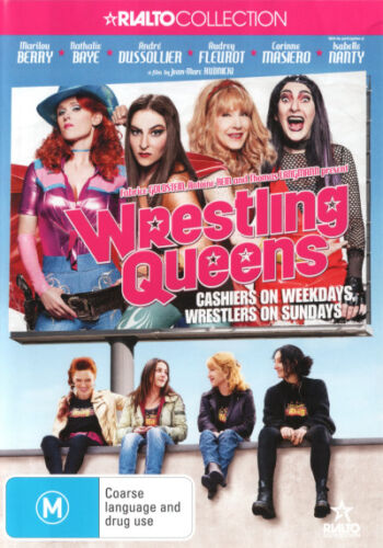 Wrestling Queens - DVD (NEW & SEALED)