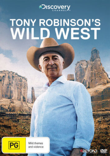 Tony Robinson's Wild West (Discovery Channel) - DVD (NEW & SEALED)