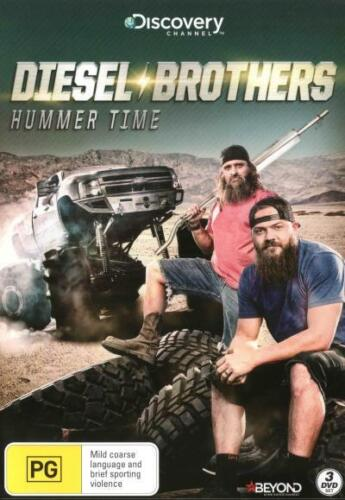 Diesel Brothers: Hummer Time (Discovery Channel) - DVD (NEW & SEALED)