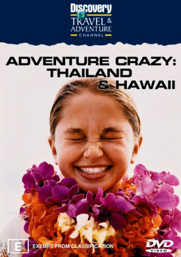 Adventure Crazy: Thailand & Hawaii (Discovery Channel) - DVD (NEW & SEALED)