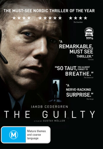 The Guilty (2018) - DVD (NEW & SEALED)
