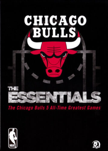 NBA: The Essentials - The Chicago Bulls 5 All-Time Greatest - DVD (NEW & SEALED)