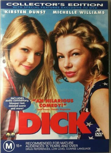 DICK (2003 MOVIE - COLLECTOR'S EDITION DVD SEALED + FREE POST)