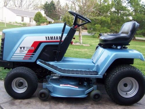 YAMAHA YT3600  Lawn Tractor SERVICE & Parts Manual CD <br/> SERVICE , OWNER'S  &  PARTS MANUALS