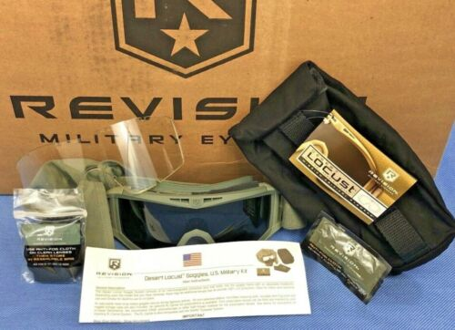 Revision Desert Locust US Military Goggle System Model #4-0309-9510 <br/> Military grade eye protection for a third of the cost