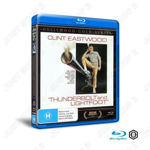 Thunderbolt and Lightfoot : Movie / Film : Clint Eastwood : Brand New Blu-ray