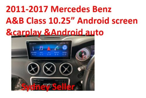 "2013-2015 Mercedes Benz A&B CLA GLA10.25"" Android screen Carplay"