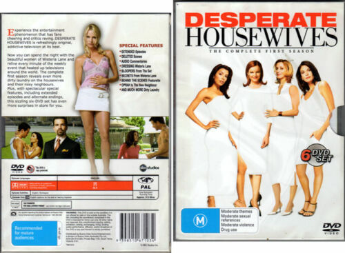 'Desperate Housewives' The Complete First Season - 6 DVD Set Slipcover