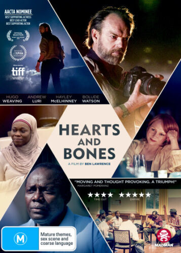 Hearts and Bones - DVD (NEW & SEALED)