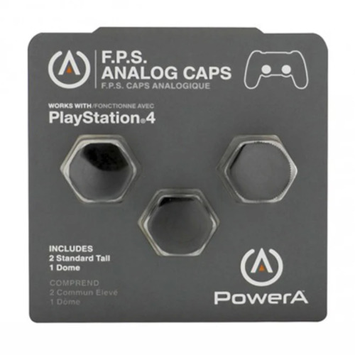 PowerA F.P.S Analog Caps for PS4 Controllers NEW