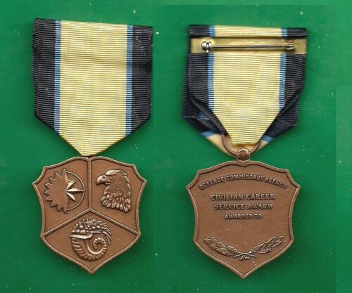 US DEFENSE COMMISSARY CAREER SERVICE MEDALOther Militaria - 135