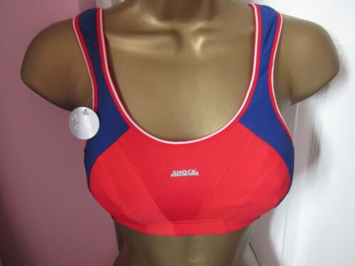 Ex M/&S High Impact Non-Padded Underwired Sports Bra Sizes 34-40 B-F Dusky Pink