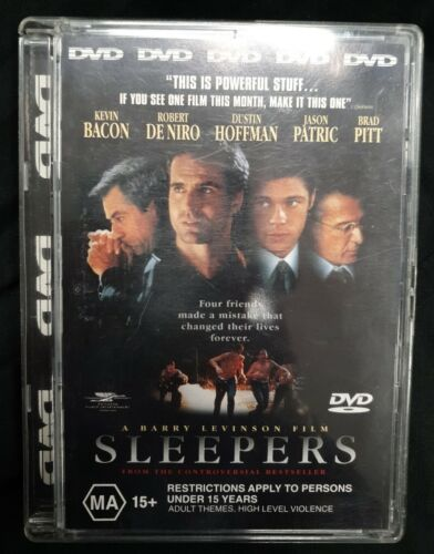 Sleepers DVD (Pal, 1999) Double Sided Disc - Free Post!!