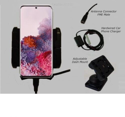 Galaxy S20 S21 +  Ultra  car cradle + ext antenna connection -Galaxy S20 car kit
