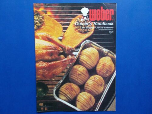 ## WEBER OWNER'S HANDBOOK - WEBER BARBECUE BBQ - KETTLE + CONFIGUATION GUIDE