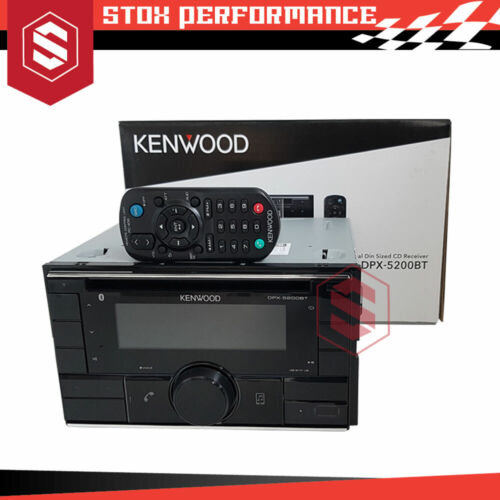 Kenwood DPX-5200BT Bluetooth USB Spotify Time Alignment CD Receiver Car Stereo