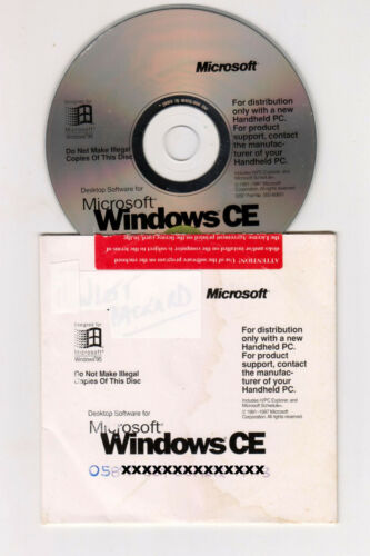 CE   Vintage Software   Original Disk With Product Key   Never Been Used ✔️   
