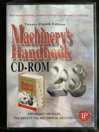 MACHINERY'S HANBOOK, CD-ROM