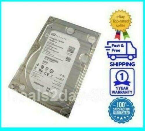 SEAGATE ENTERPRISE ST8000NM0065 8TB 7200RPM 3.5IN 4KN SAS-12GBPS HDD FOR SERVERS