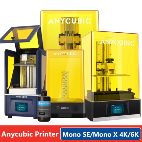 ANYCUBIC Wash and Cure Machine / UV Matrix Photon-S LCD 3D Printer Fast Curing
