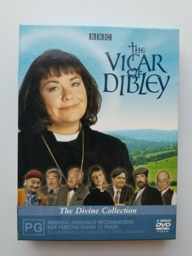 The Vicar of Dibley The Divine Collection 3 x DVD Set in Slipcase Free Postage