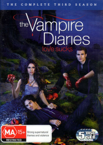 'The Vampire Diaries' The Complete Third Season - 5 DVD Set