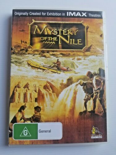 Mystery of the Nile - All Region DVD Free Post