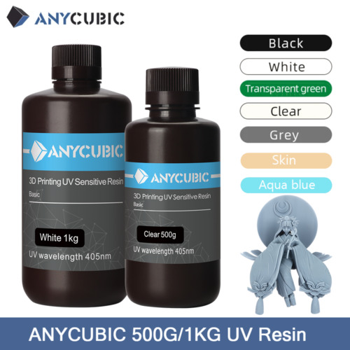 AU ANYCUBIC 405nm UV Sensitive Resin Professional for SLA LCD Photon 3D Printer