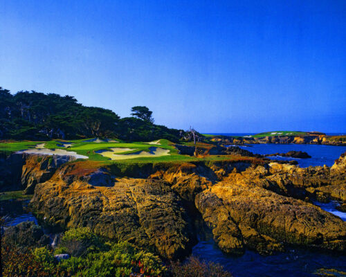 Cypress Point Golf Club Canvas Print 16 x 20