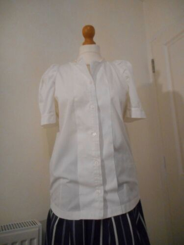 See By Chloe White Blouse Short Sleeve Shirt Size 12 Net A Porter