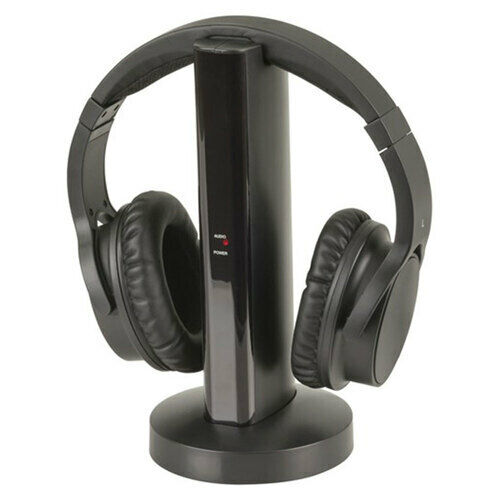 TechBrands 2.4GHz Wireless Rechargeable Stereo Headphones