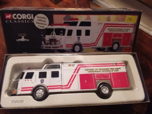 Voiture de pompiers Corgi 52204 Washington DC E-One Rescue 1:50