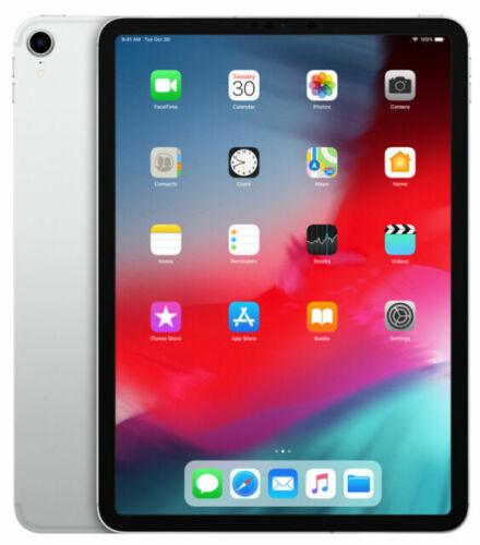 Apple iPad Pro 11-inch 64GB Wi-Fi + Cellular (Silver)