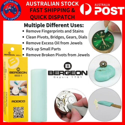 Bergeon 6033 Watchmakers Original Rodico One Touch Cleaner Stick Cleaning Watch