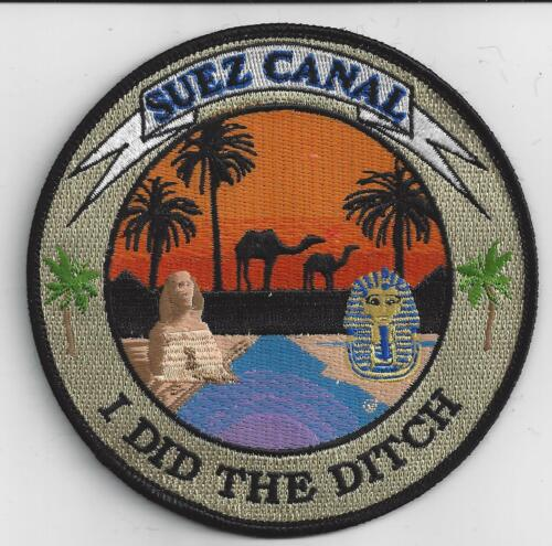 Suez Canal -  I Did The Ditch - Bc Patch No. C7152