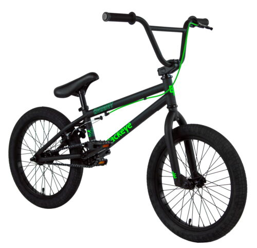 "Black Eye BMX Bike - 2021 18"" Hornet - 18""TT - Matt Black"