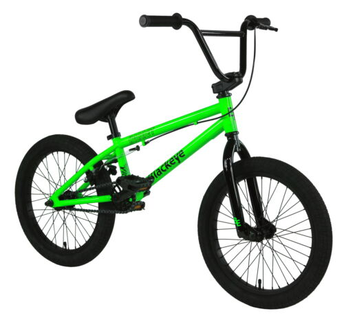"Black Eye BMX Bike - 2021 18"" Hornet - 18""TT - Glossy Green"